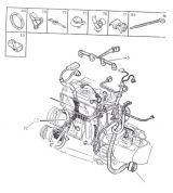 Электропровода - двигателя (harness - engine.